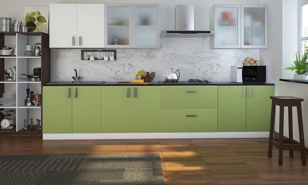 Straight Kitchen Designs Pune Kitchen Interior Straight