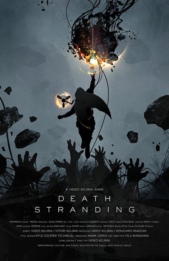 on Death stranding ps4, Death stranding poster, Japanese