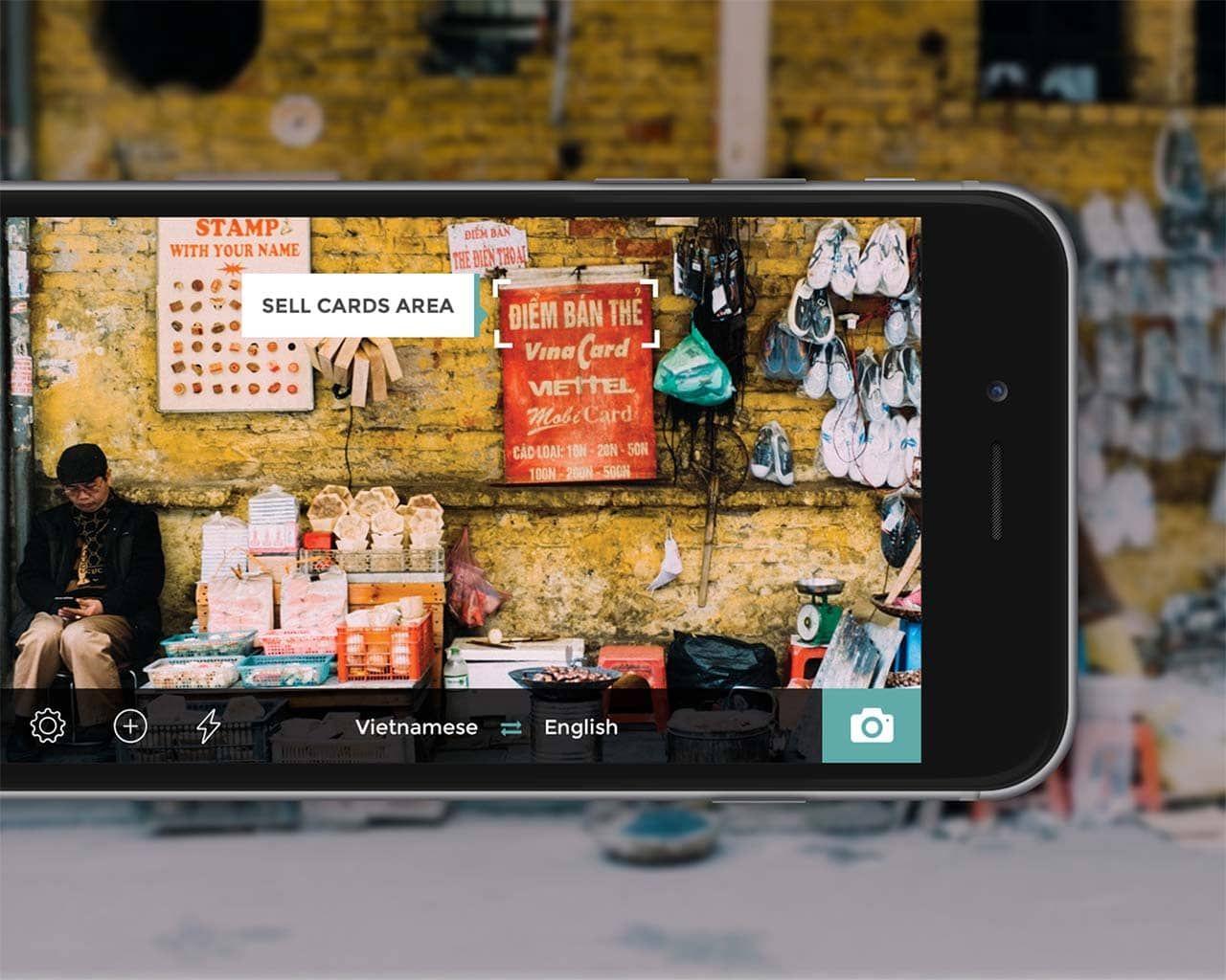 تطبيق ترجمة الصور وتحويلها الى نصوص برنامج ترجمة الصور Behance App Tablet