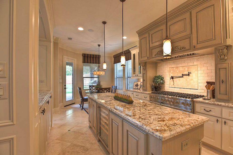   Traditional cream kitchenInterior Design Ideas.