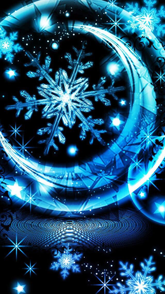 Snowflakes Wallpaper...By Artist Unknown... from Uploaded by user