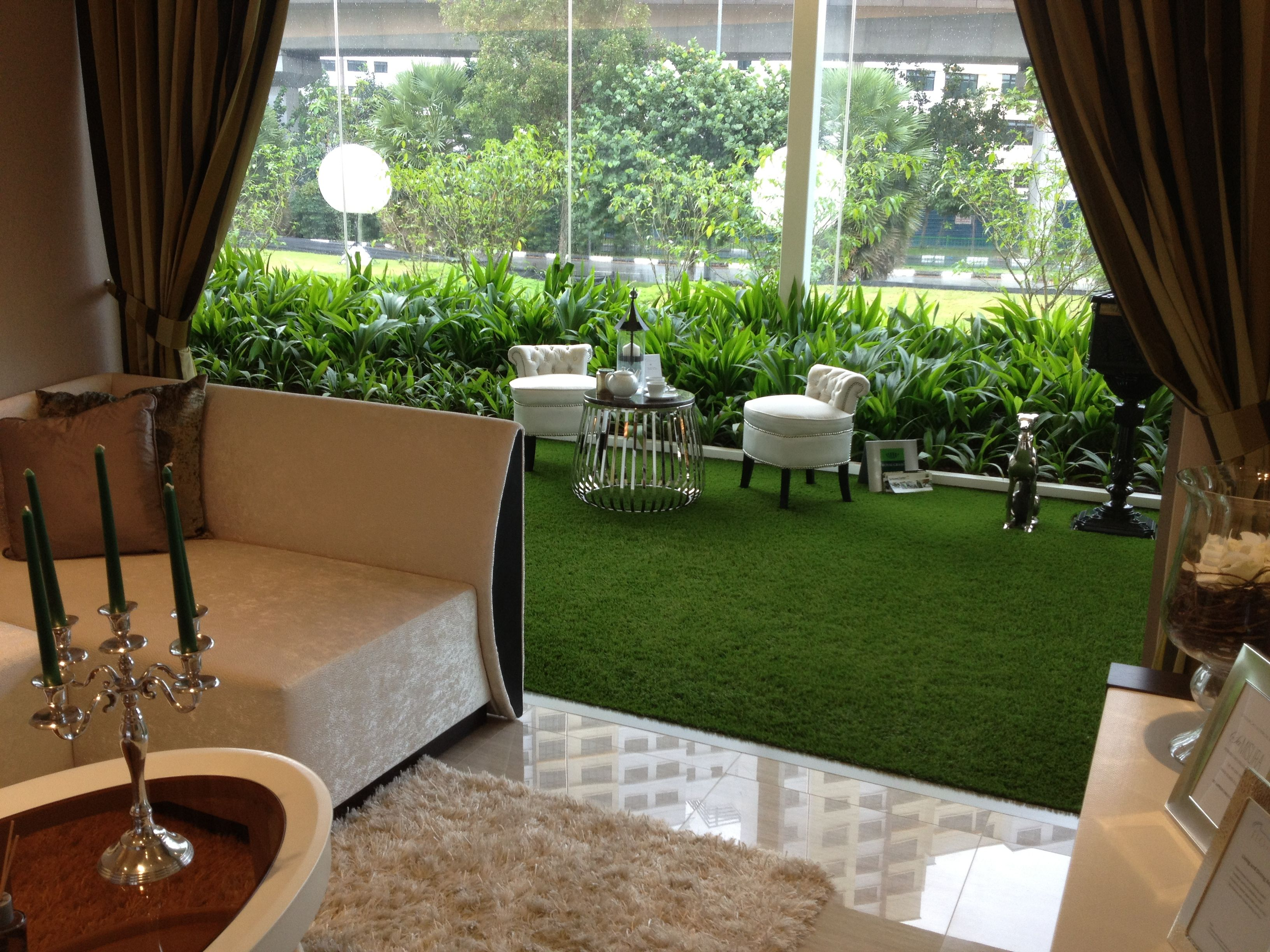 What do you think about this indoor terrace artificialgrass
