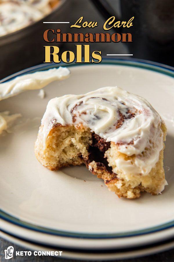 Keto Cinnamon Rolls Recipe Keto Cinnamon Rolls Food Recipes Food