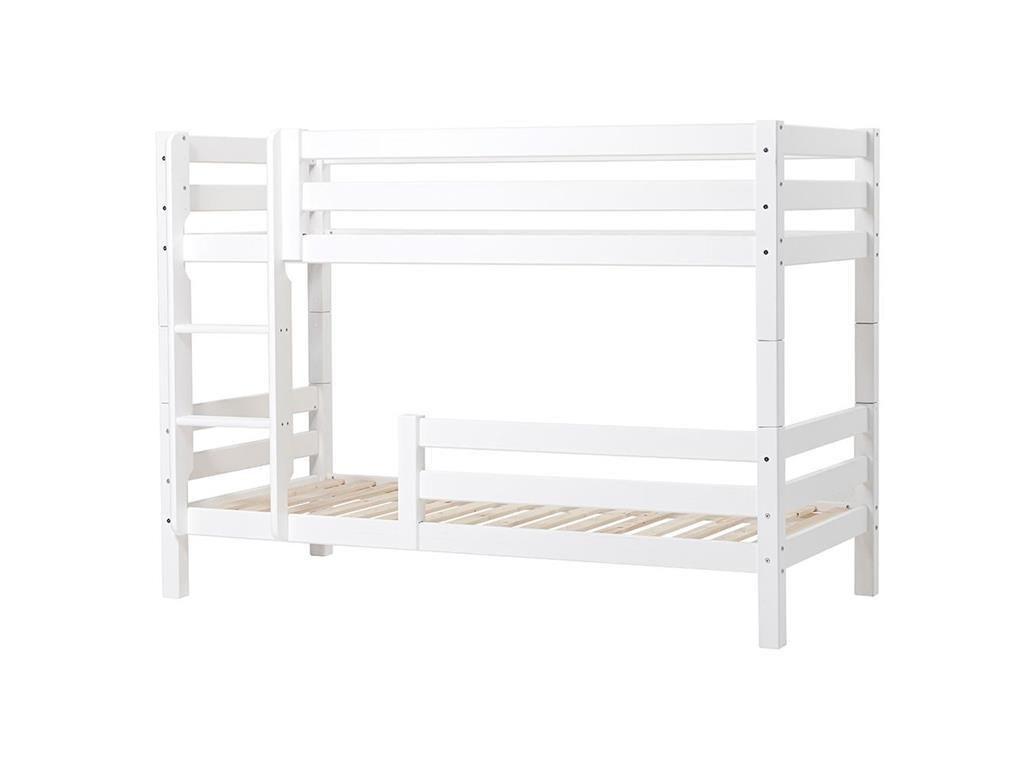 Quelle Etagenbett : Hoppekids premium etagenbett mit gerader leiter absturz unten und