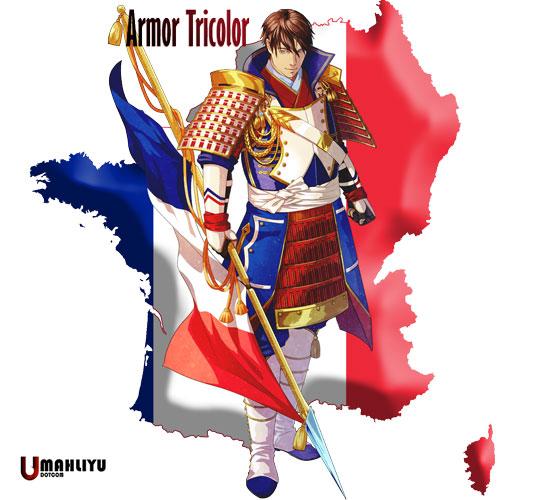 karakter anime negara peserta olimpiade 2020 Samurai