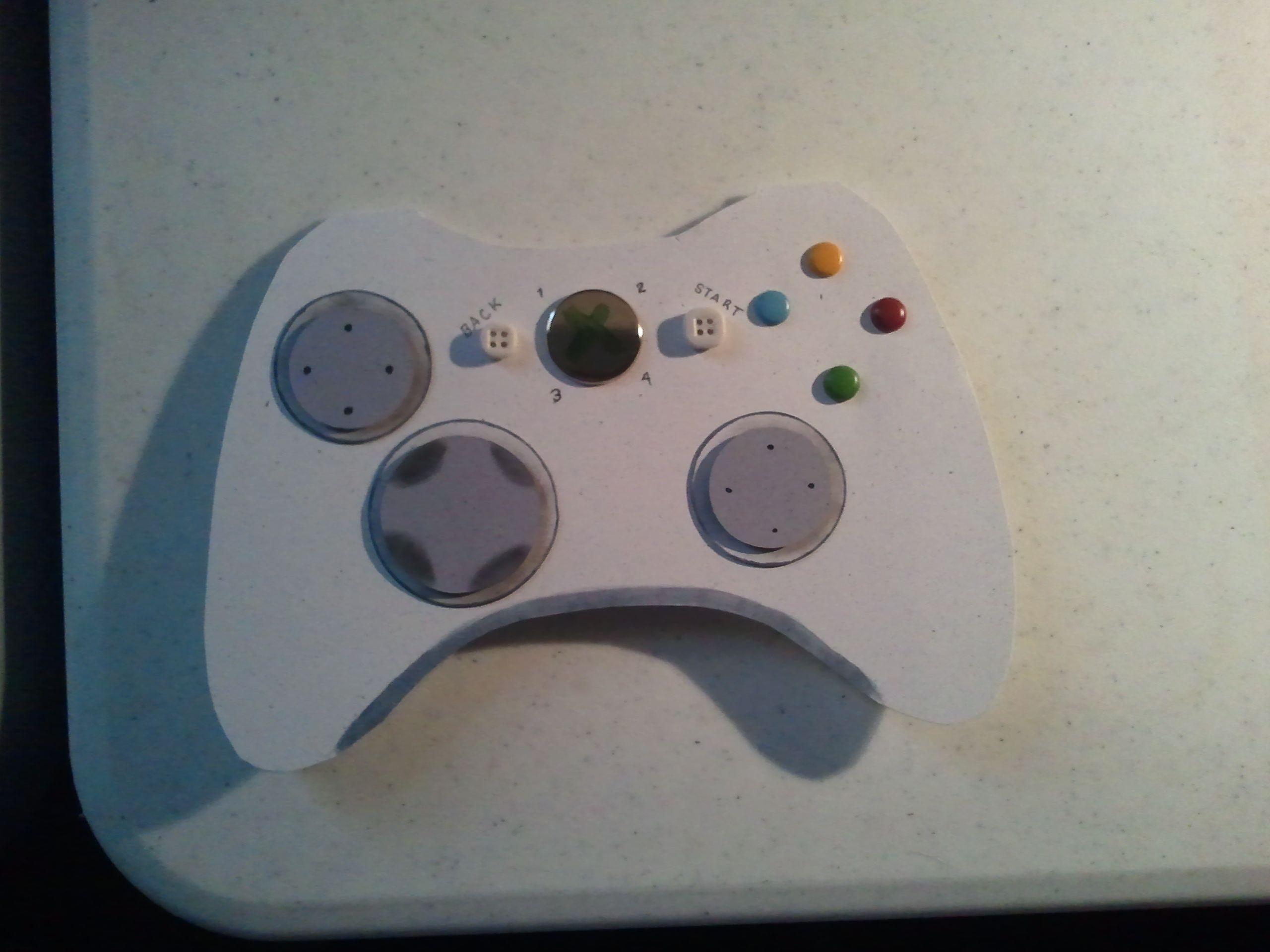 Xbox Controller Birthday Card