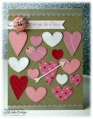 Love These New Dies From Lil Inker Designs Beautiful Card