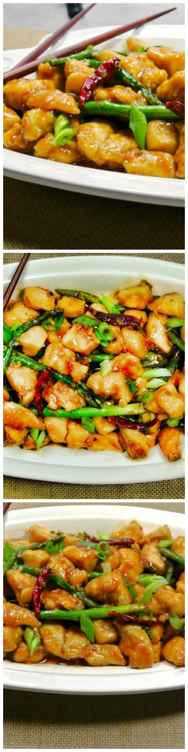 general tso's chicken  try this easy low carb version of
