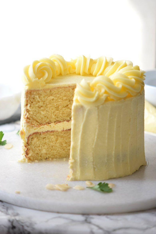 The Very Best Vanilla Layer Cake | Recipe | Vanilla, Frosting and ...