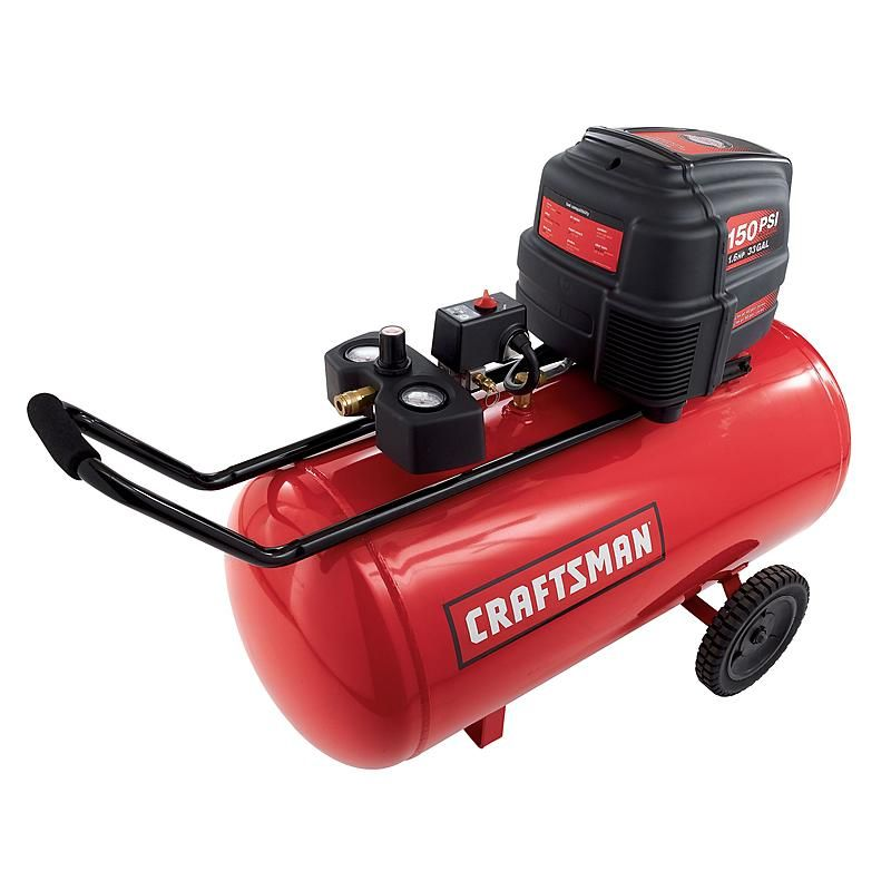 Craftsman 33 gallon quiet horizontal air compressor 165psi on craftsman 33 gallon quiet horizontal air compressor 165psi on sale at sears for sciox Images