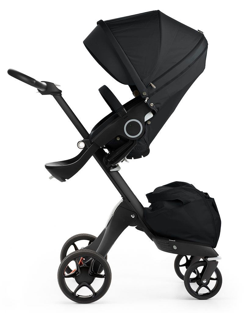 Stokke Stroller Store Stokke Xplory Is Now Available With An All Black Chassis