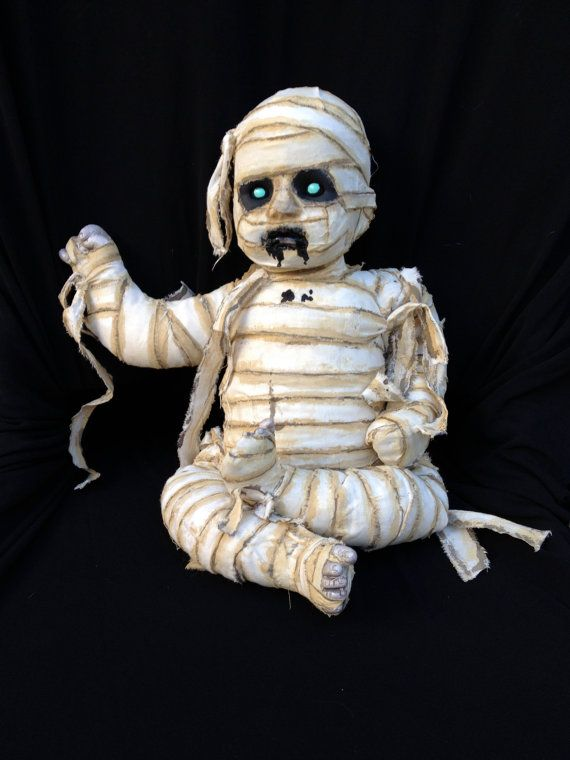 Bo Sessed is a recycled  doll wickedly wrapped into a mesmerizing MumbabieZ on Etsy, $65.00