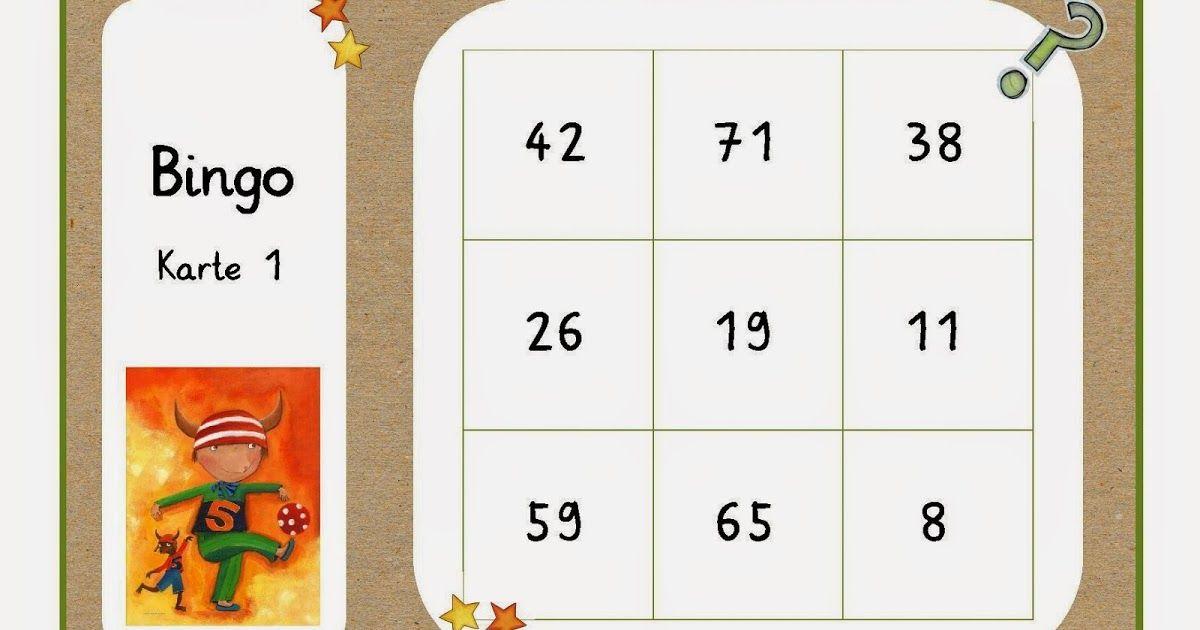 reif für die ferien, bingo, mathe-bingo, mathe-spiel, zahlenraum bis ...