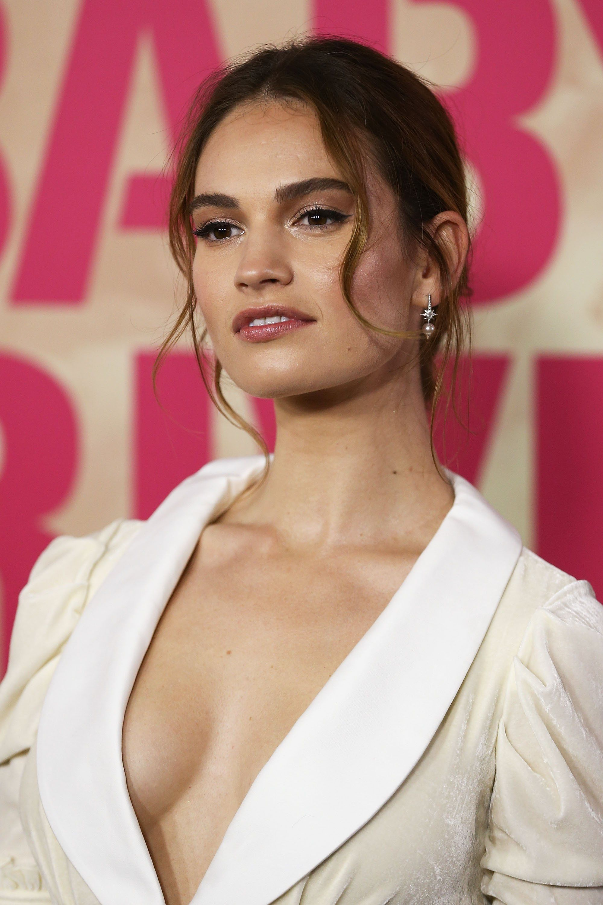 Celebrites Lily James naked (15 photos), Topless