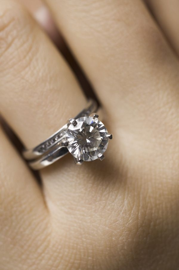 Does Your Wedding Ring Go On First In 2020 Big Engagement Rings Engagement Rings On Finger Favorite Engagement Rings