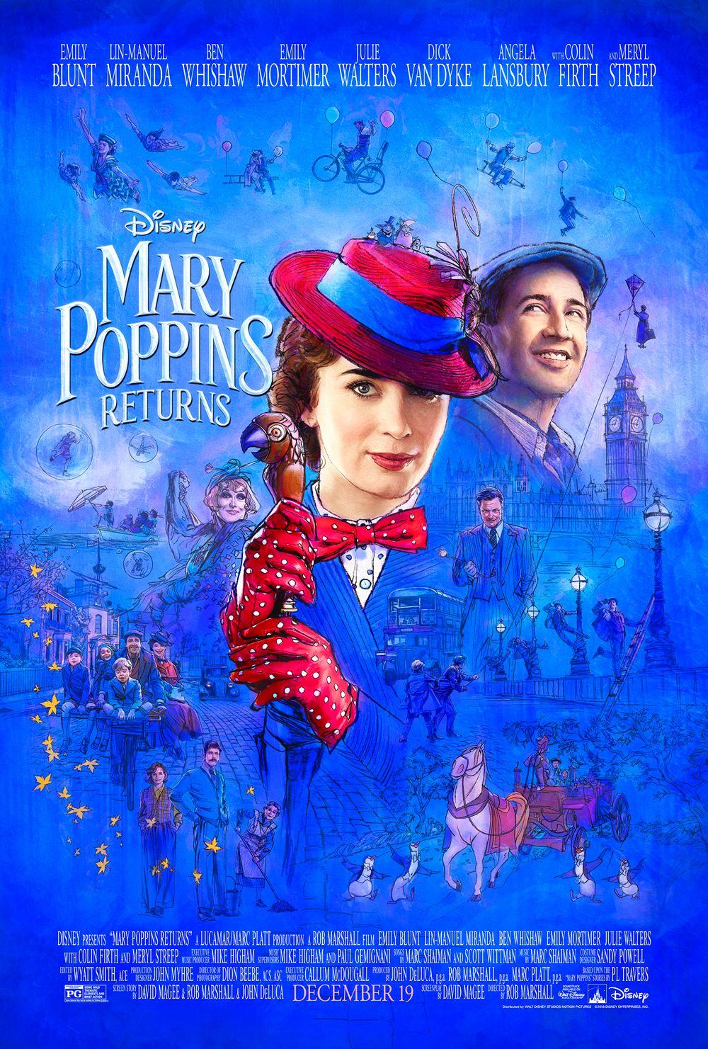 MARY POPPINS RETURNS starring Emily Blunt | In theaters December 19, 2018