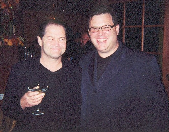 Micky Dolenz and Bill Ganz - #billganz http://www.linkedin.com/in/billganz