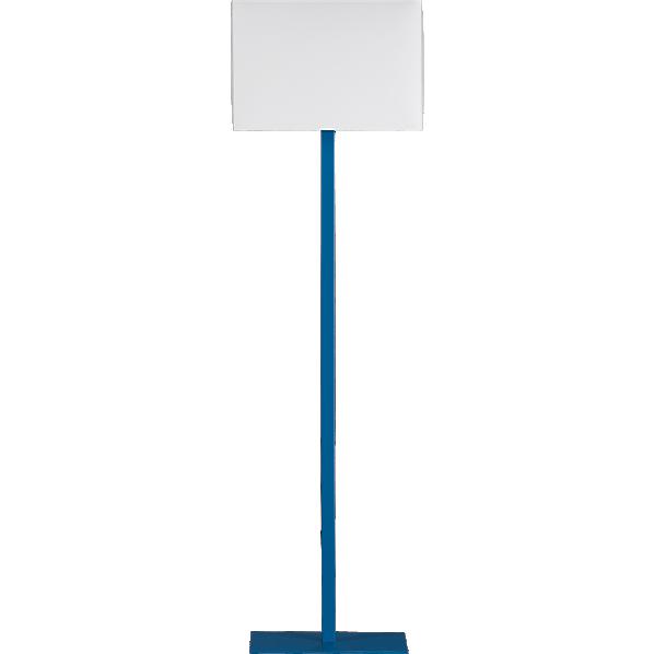Superb John Peacock Blue Floor Lamp At CB2   Floor Lamps Under $100