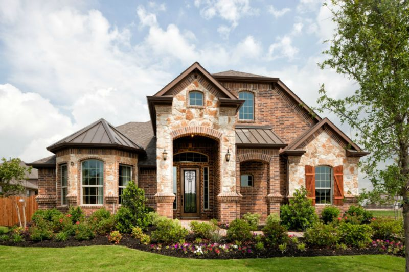 beautiful stone and brick exterior sandlin homes fort worth homes for sale - Luxury Homes Exterior Brick