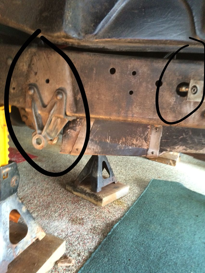 Decided to remove front leaf springs since axle is removed to clean