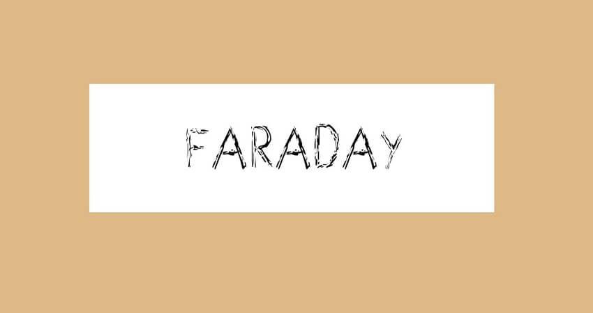 Faraday Font Free Download | Top 15 Crayon Fonts Free Download