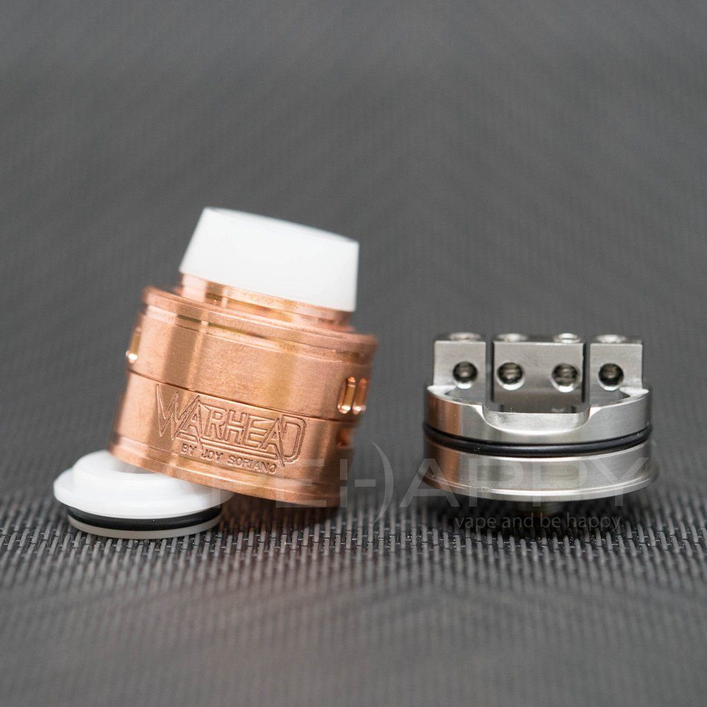 30mm Copper Warhead Rda By Mcv Philippines In 2018 Modsattysand Tank Vape Tsunami 22 Mm Presents The This Is First Rebuildable Dripping Atomizer Designed Joy
