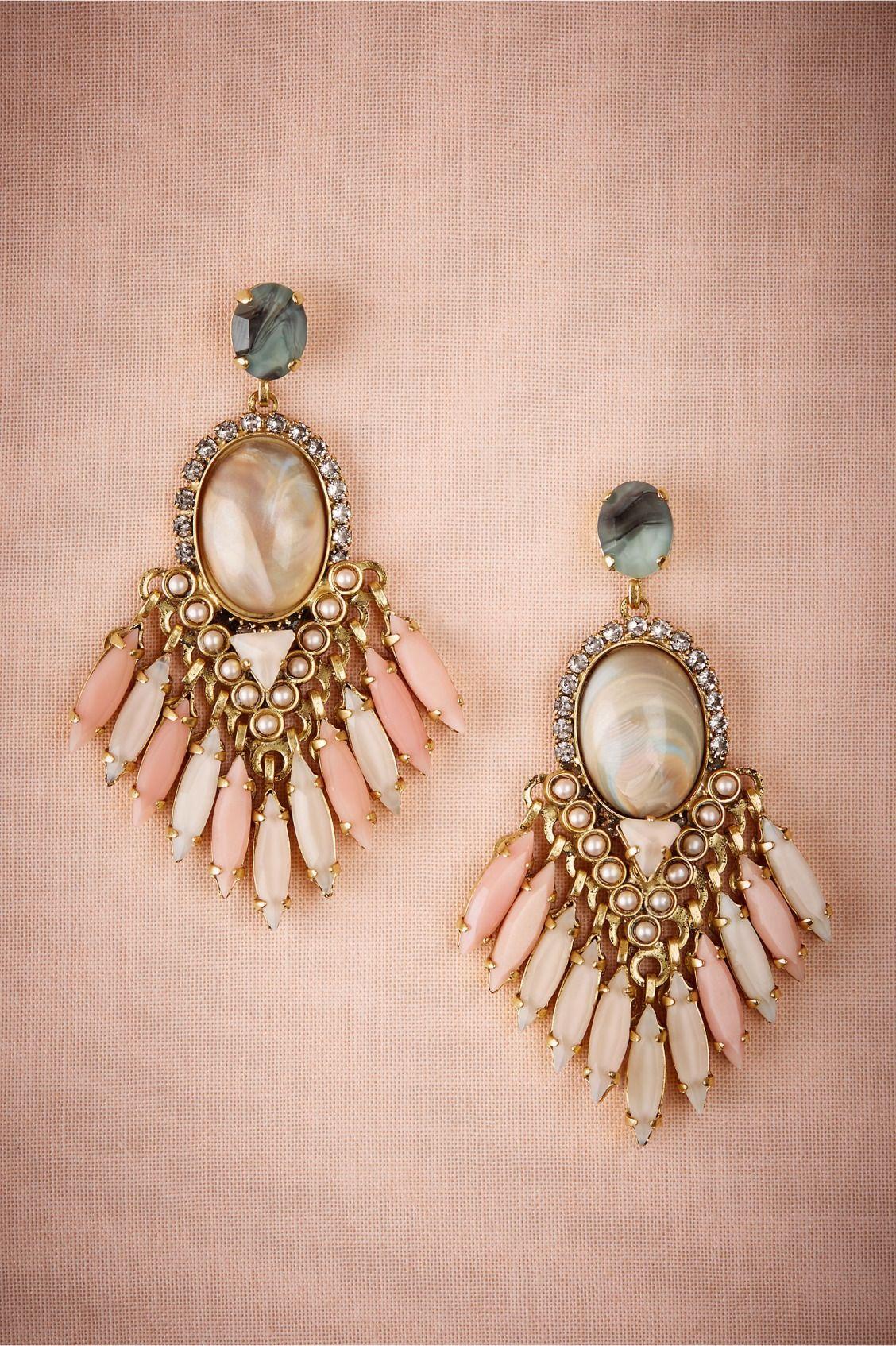 Tunia Earrings Bride earrings, Bridal jewelry, Fashion