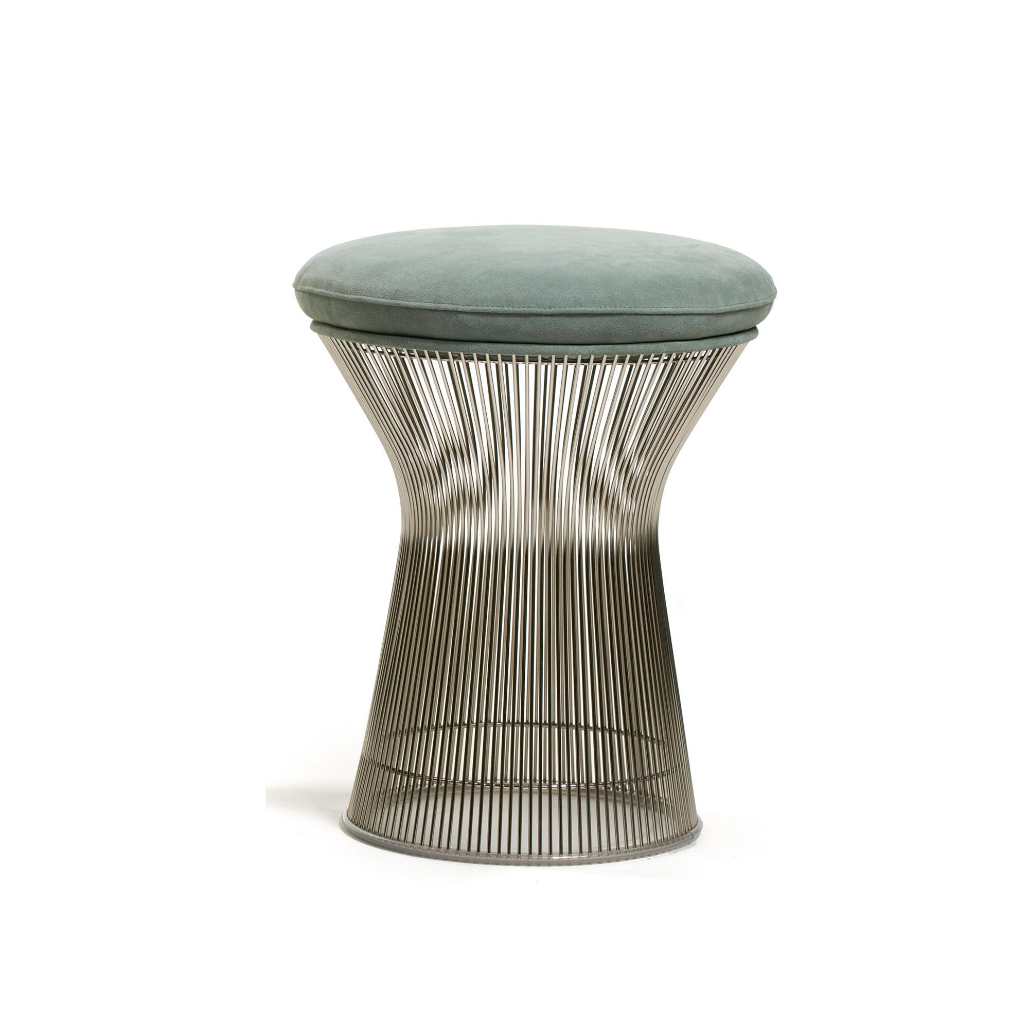 Platner stool n the 1960s Warren Platner transformed steel wire
