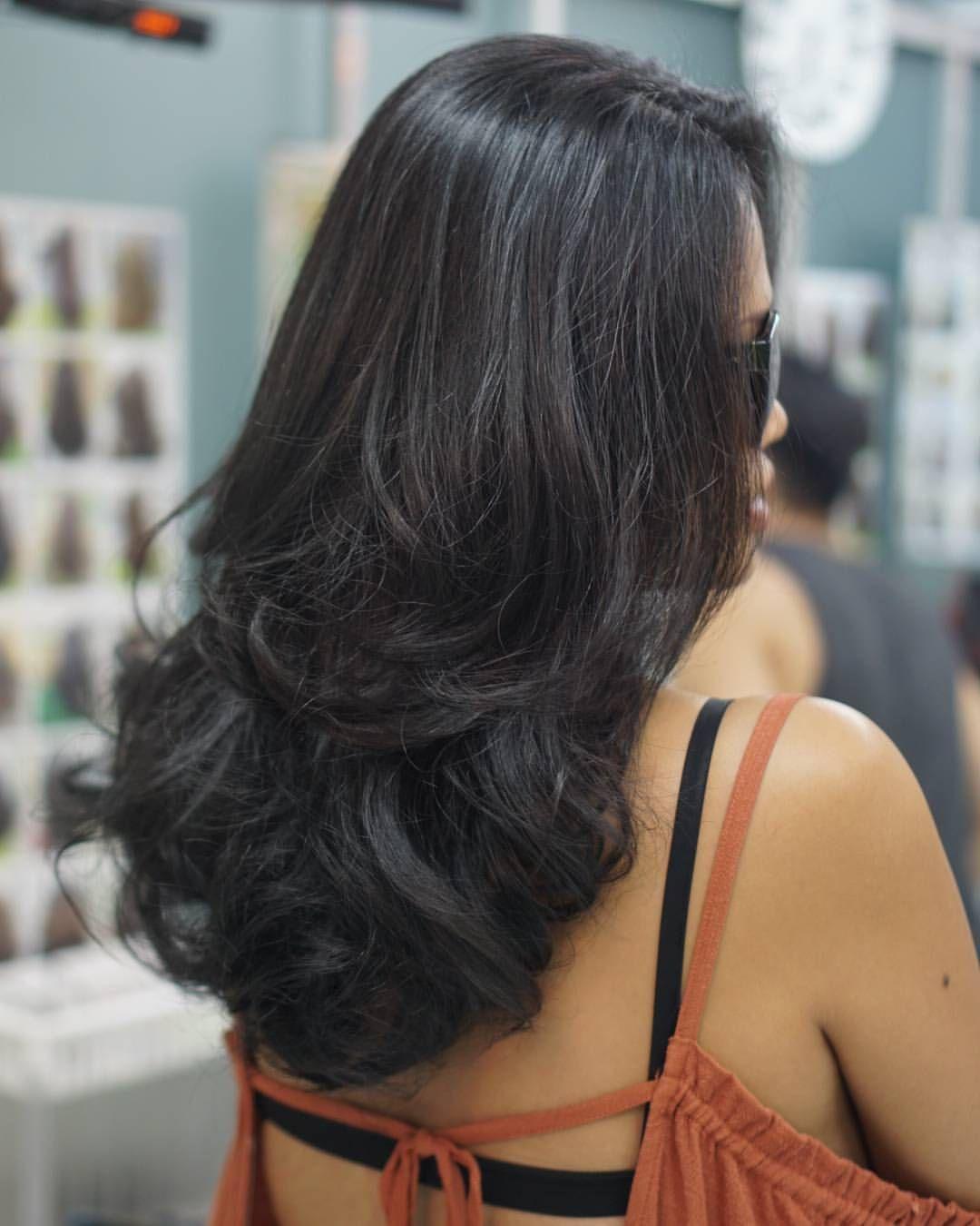 Volume Layer Hair Cut By annassalon hair hairlook hairwork