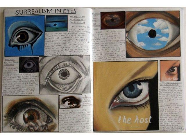 Libretas De Dibujo De Un Artista Freelance: Art Sketchbook Gcse Sketchbooks