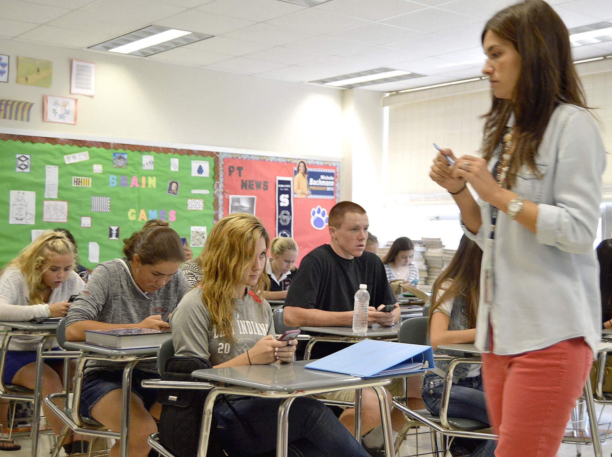 Peters Township High School embracing phone tech Byod