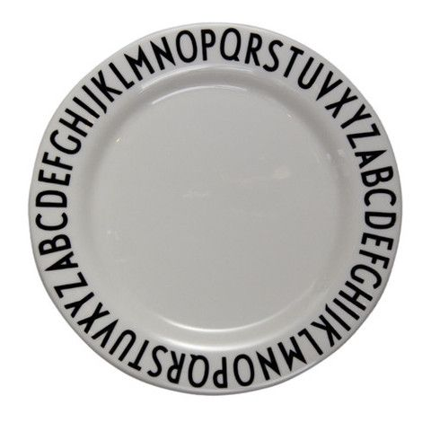Arne Jacobsen ABC Melamine Plate u0026 Bowl by Design Letters  sc 1 st  Pinterest & Arne Jacobsen ABC Melamine Plates u0026 Bowls by Design Letters | Arne ...