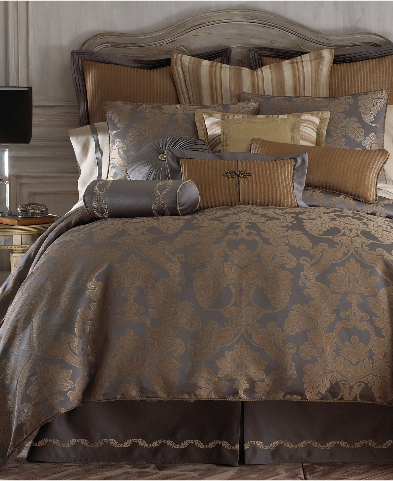 Closeout Reversible Walton Bedding Collection Bedroom