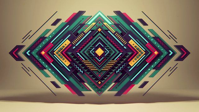 Pure geometry by Romanowsky by alx. short movie, which i had made by playing with different styles of animation