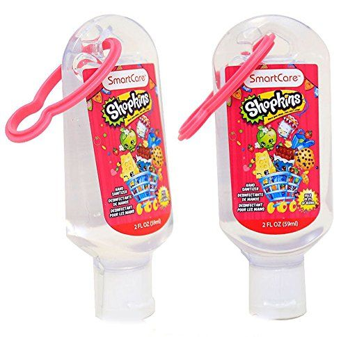 Shopkins Hand Sanitizer With Backpack Clip 2pc Set Read More