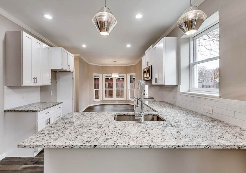 Existing Obsessions 8 Heavenly Kitchens With White Granite