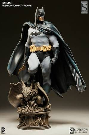 Sideshow Batman 1/4 premium format statue for sale. This is the ex edition with the extra hand. Mint in box never displayed. Comes with art box plus shipper box. From the sideshow website: Product...