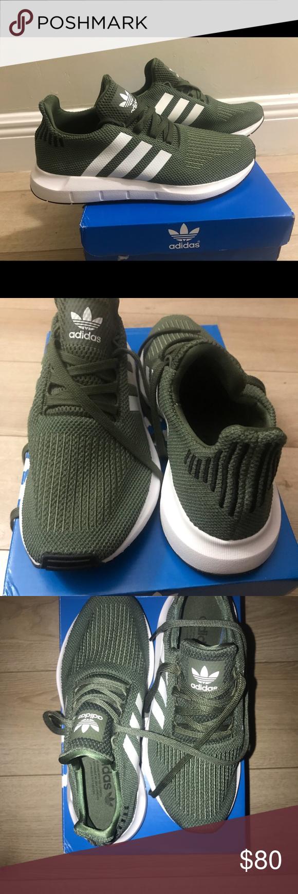 Adidas SWIFT RUN originals. Olive green
