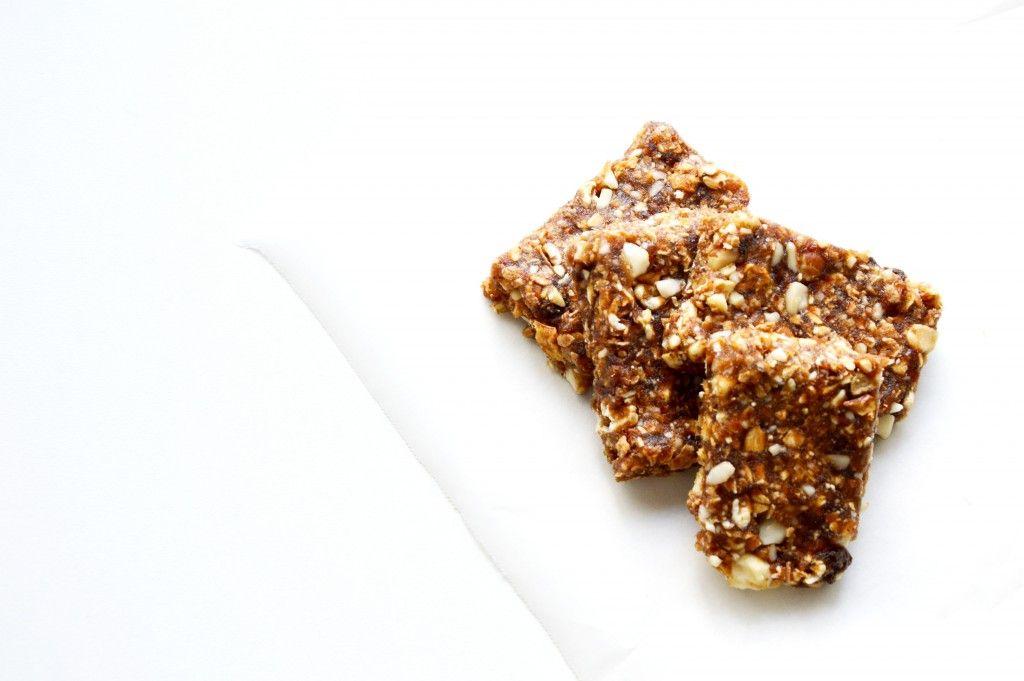 Barre céréale 3 ingrédients sans cuisson