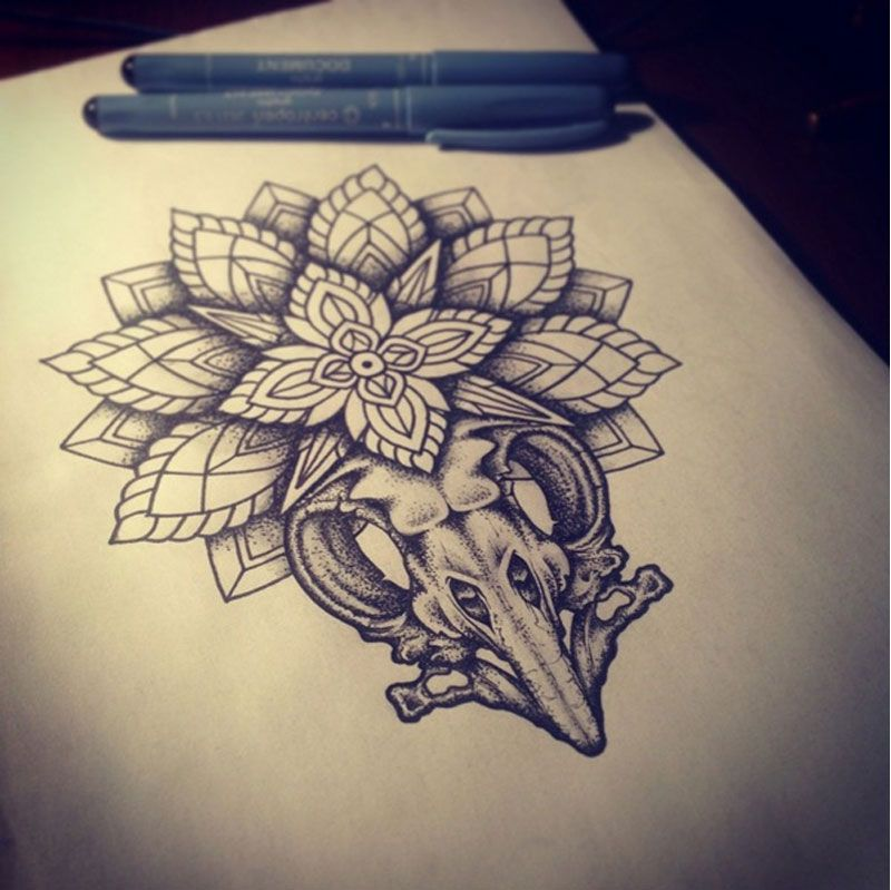 20 Awesome Tattoos That You Will Love: 20 Beautiful Tattoo Sketches For Your Inspiration
