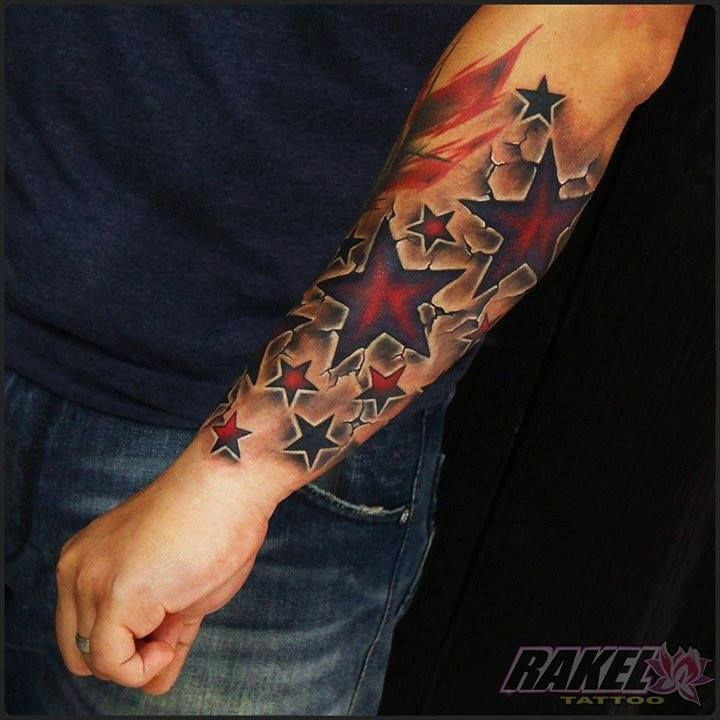 It S Better Than Tinder Star Sleeve Tattoo Star Tattoos Star Tattoos For Men