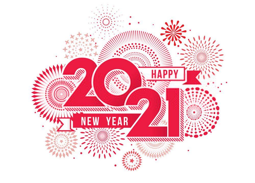 Unique Happy New Year 2021 Wallpaper สว สด ป ใหม