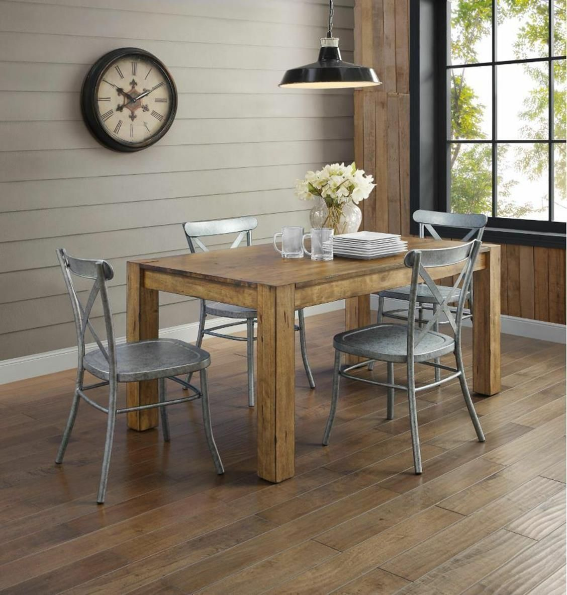 Luxury Farmhouse Dining Table Set for Sale The Most