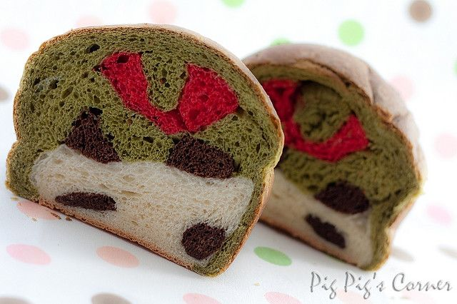 Panda bread (sour bread, good with chocolate spread)  http://www.pigpigscorner.com/2009/09/panda-bread.html