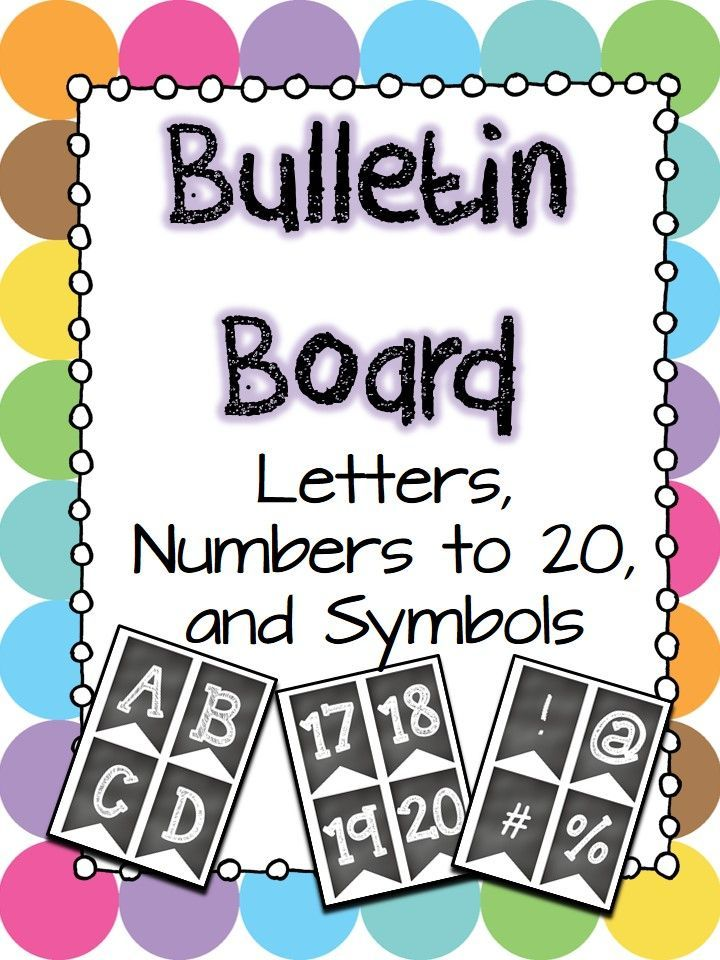 image relating to Printable Letters for Bulletin Boards identified as Bulletin board letters, quantities, and symbols MD: Totally free and