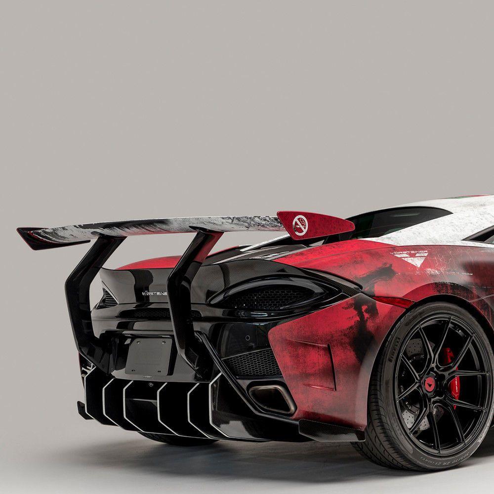 Vorsteiner 570 Vx Rear Bumper With Carbon Fiber Diffuser Fits