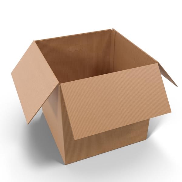 Open Cardboard Box Png Images Psds For Download Pixelsquid S105229016 Png Images Png Design