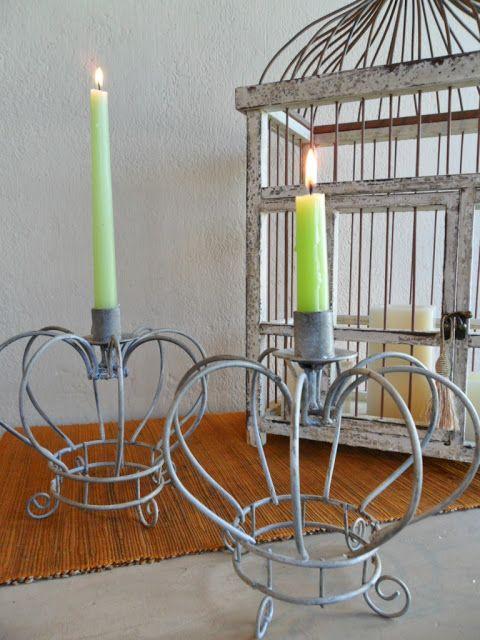 Coronas decorativas: Tienda Deco C …   Candle holders ...