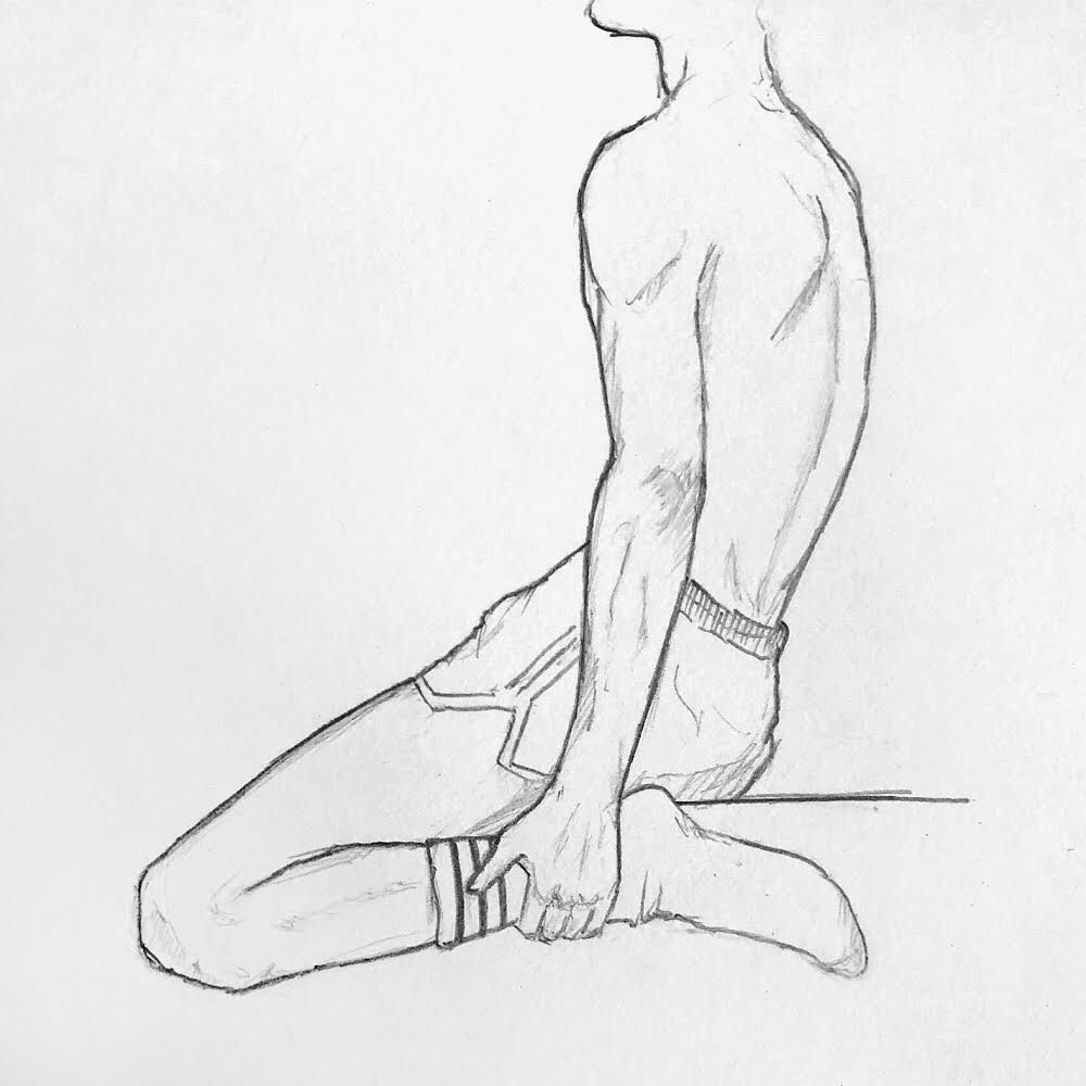Male Full Body Sketch Images Amp Pictures Becuo Body Man Anatomy Body Sketches Guy Drawing Anatomy Sketches