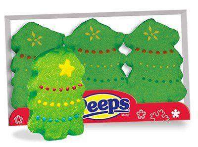 Marshmallow Christmas Tree Holiday Peeps $0.01 #bestseller